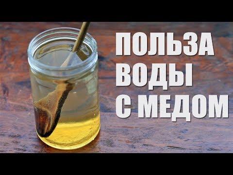 Вода с медом чистит организм и снижает вес