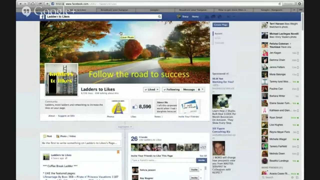 How to get more likes on your Facebook Business Page FREE - YouTube