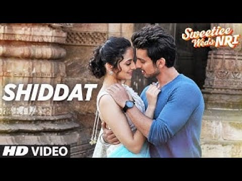 Shiddat Lyrics   Arman Malik   Full Song   Lyrical   Sweetiee Weds NRI   Himansh Kohli, Zoya Afroz36