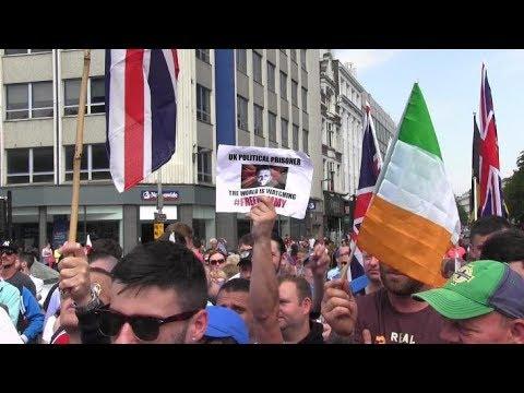 Free Speech Rally Belfast #FreeTommyRobinson