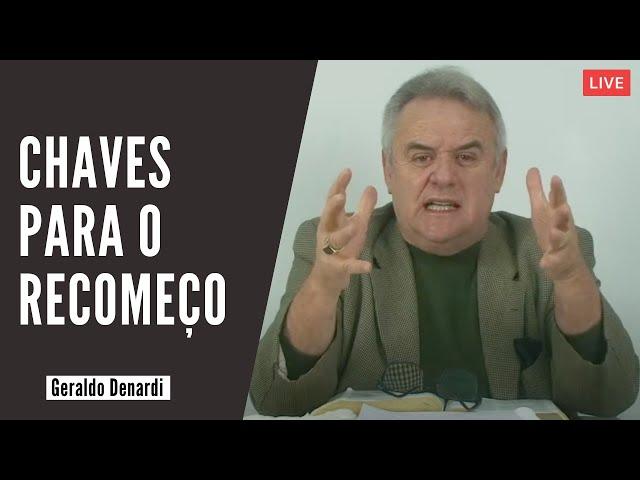 Chaves para o recomeço - Ap. Denardi - Live 01/11