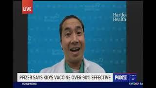 Pfizer Announces Child Vaccines Are 91 Percent Effective