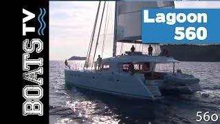 Lagoon 560, a luxurious cruising catamaran
