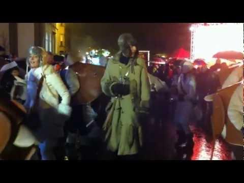 Parade de Noël RTL Mouscron 2012