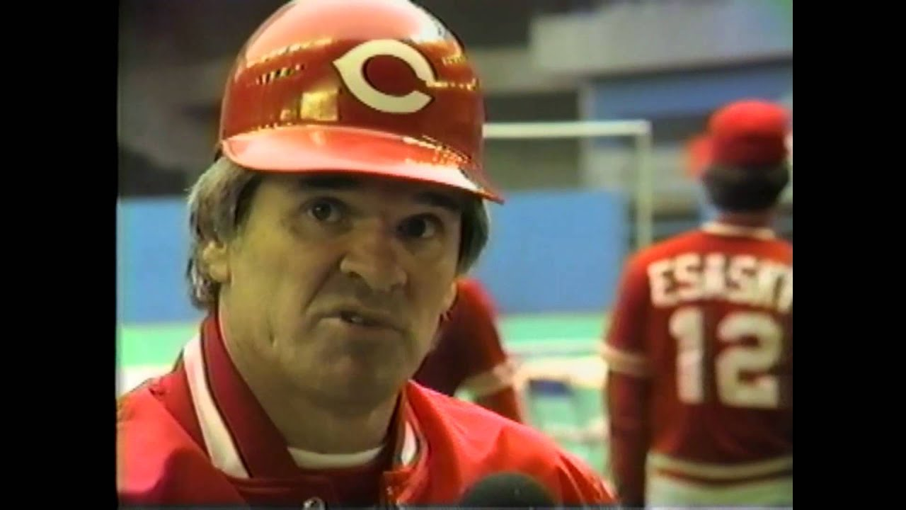 Future Hall of Famer Pete Rose - 1985