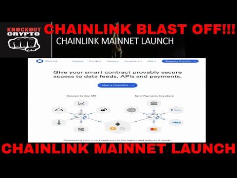 Chainlink Mainnet Launch Chainlink Coin News Chainlink Crypto News