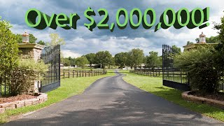 Equestrian Training Facility | Over $2,000,000 | For Sale