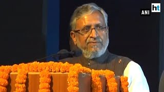 Bihar Dy CM Sushil Modi justifies watching Super 30 amid floods in state
