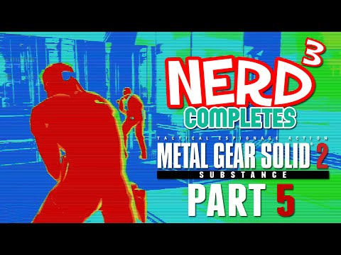 Nerd³ Completes... MGS2 VR Missions - 5 - Hold Up!