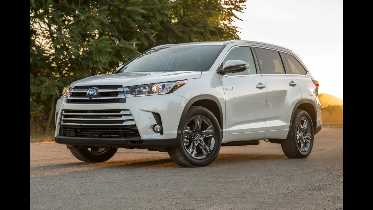 2017 Toyota Highlander Hybrid Limited Platinum The Is One Of Eight Models Offered By Available For In Le Xle