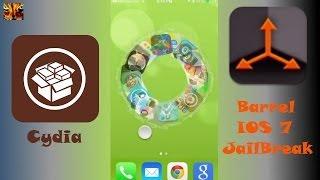 iOS 7 Barrel Cydia Tweak (free)