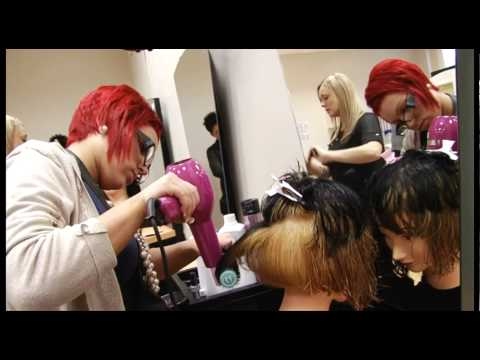 World Skills - Hairdressing Competition Event - by Media Wales Video Services