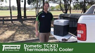 conexiones 12 // 24 // 230 V Dometic Tropicool TC 21 clasificaci/ón energ/ética A++ Nevera termoel/éctrica port/átil 20 litros de capacidad