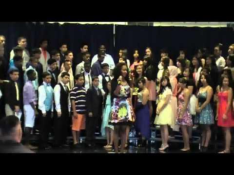 Juniata Park Academy 8th grade graduation Ceremony June, 2013