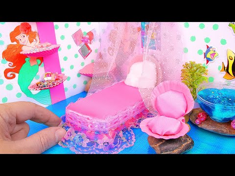 DIY Miniature Dollhouse Room for Ariel