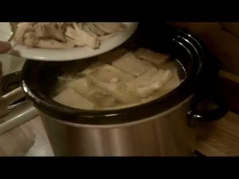 $5.84 CHICKEN AND DUMPLINGS Crock Pot Recipe