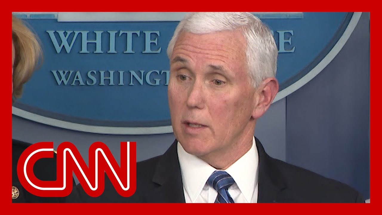 White House coronavirus task force holds briefing
