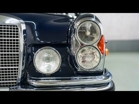 1970 Mercedes-Benz 280 SEL W108 With Classic Design By Paul Bracq