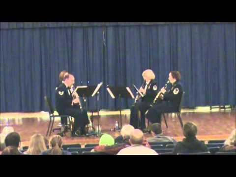 Summertime, USAF American Clarinet Quartet