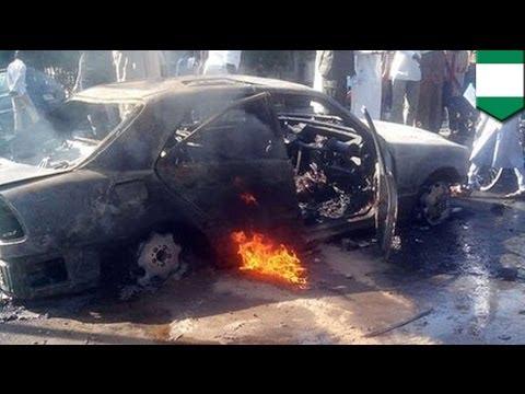 Suicide car bomb attack kills at least 29 in northeast Nigeria