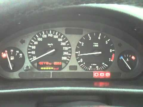 Bmw E36 Gauges Problem Temp Fuel Speedo Odometer Youtube
