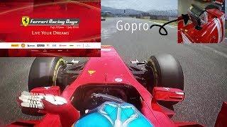 Ferrari RacingDaysFuji 2018 ' F1 Clienti' Part.01 Gopro onboard フェラーリレーシングデイズ富士2018