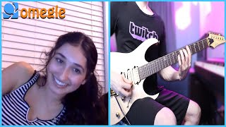 Playing Guitar on Omegle but I play Dubstep on Guitar