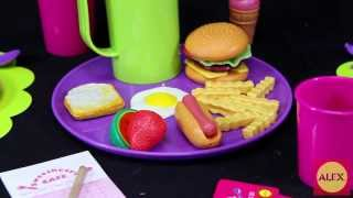ALEX Toys Sweethearts Cafe Restaurant Play Set -791W