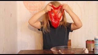 Del 4:4 - Lav selv Zombie blod slim - DIY rødt slim