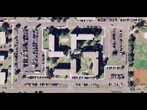 Swastika Shaped Building Complex Coronado, California, USA