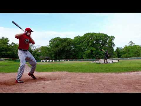 Mat Bruno Class of 2017 OF College Baseball Recruitment Video