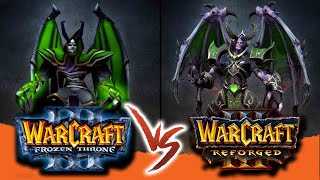 Undead - old models vs new! // Warcraft 3: Reforged