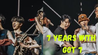 #7YearsWithGOT7 갓세븐_7주년_고마워| GOT7 CELEBRATE ITS 7 YEARS IN T…