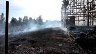 Пожар в Брехово(11 июля 2011 года. Пятницкое шоссе, деревня Брехово., 2011-07-11T16:27:23.000Z)