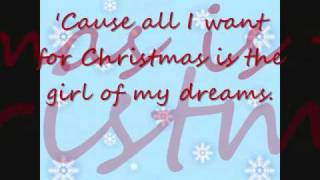 Girl Of My Dreams Lyrics- Jonas Brothers *Christmas Song*