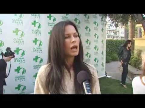 Rhona Mitra Global Green USA 14th Annual Millennium Awards