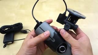 Lecmal HD R300 Dual Camera Dashcam REVIEW