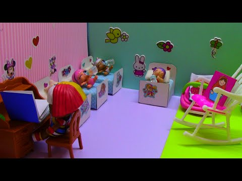 Куклы ЛОЛ ДЕТСКИЙ САД Новая воспитательница Видео для детей Doll LOL Kindergarten New Teacher
