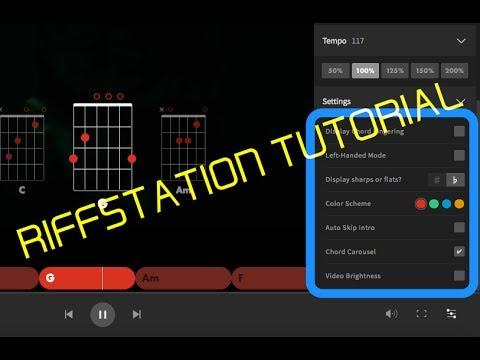 RIFFSTATION - Programma per accordi |chitarra - ukulele - piano| TUTORIAL