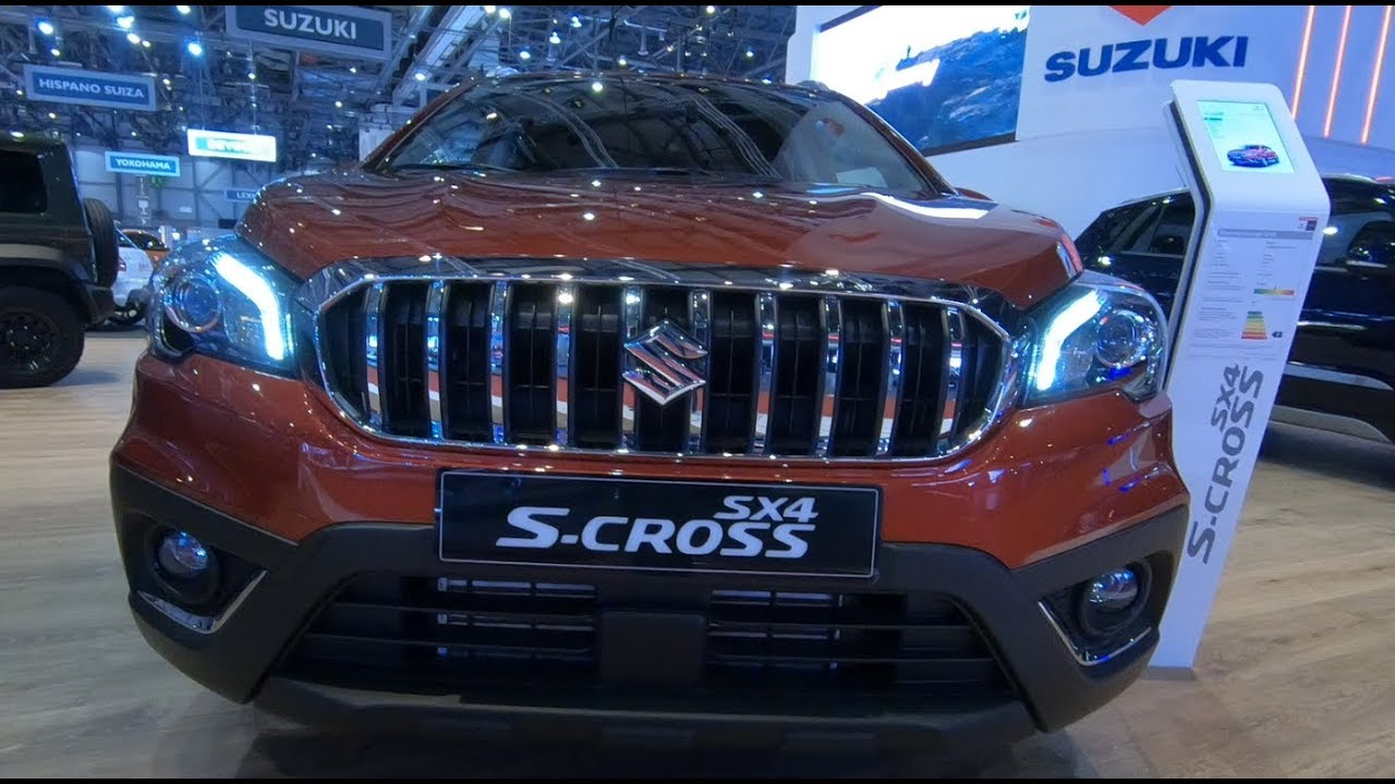 2019 New Suzuki SX4 S-Cross Exterior - YouTube