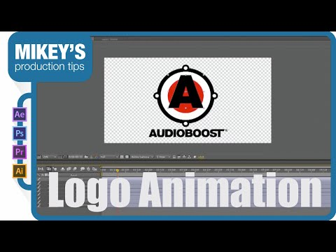 After Effects Lesson: Logo Animation Motion Graphics