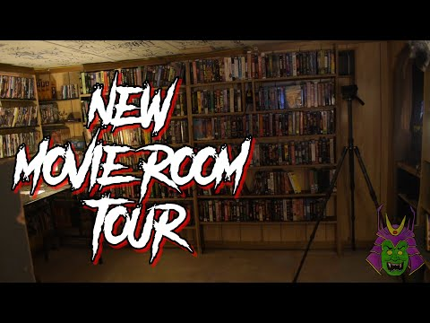 NEW MOVIE ROOM TOUR - Horror/Cult/Asian & More - VHS + DVD/Blu (2020)
