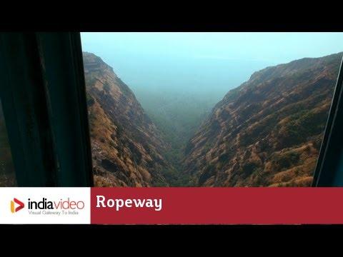 Ropeway at Pavagadh Mahakali Temple, Gujarat | India Video