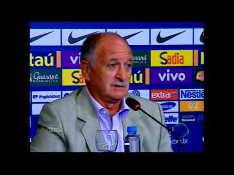 Felipão faz convocação dos jogadores que atuam no exterior