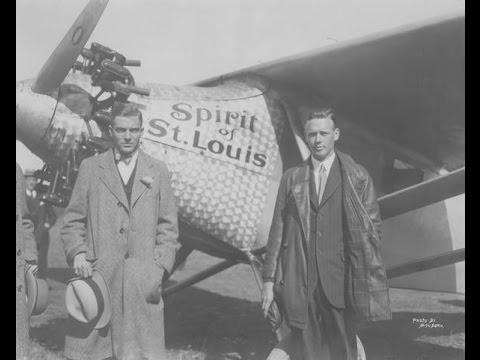 Charles Lindbergh in Wilmington, Delaware (1927)