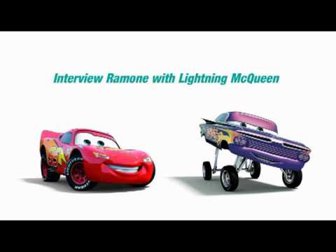 Interview Ramone with Lightning McQueen