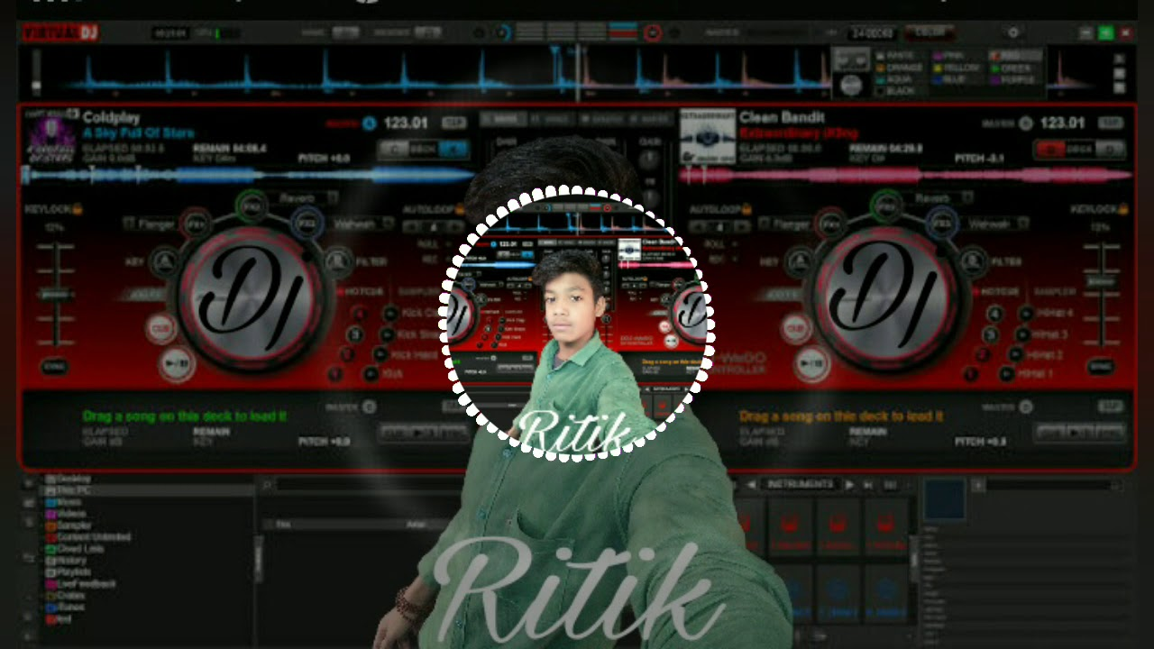 Pardeshi anthem dj ritik mix - hlub video