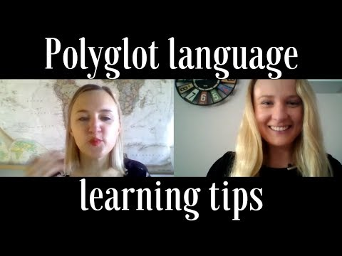 Polyglot language learning tips (English Listening Practice with subtitles)