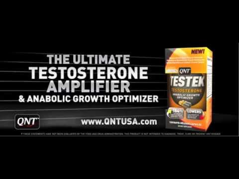 Build bigger Muscles Fast with The Ultimate Testosterone Booster Testek