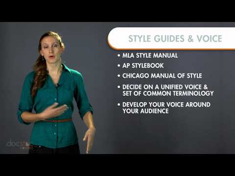 Creating A Style Guide & Voice - Business Writing & Grammar